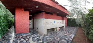 Sanitary building